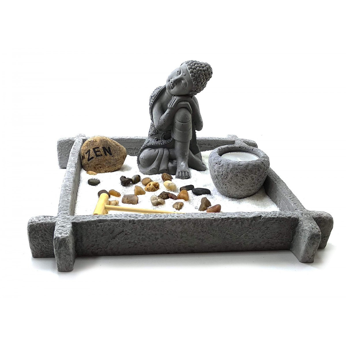Сад камней Будда (24,5х24,5х15 см)