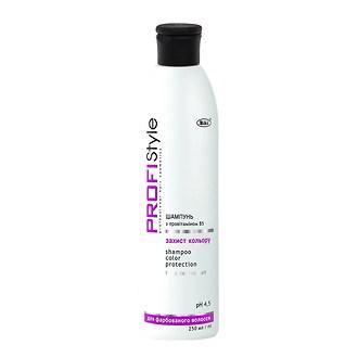 """Шампунь для окрашенных волос """"Защита цвета"""" Profi Style, 250 мл."""