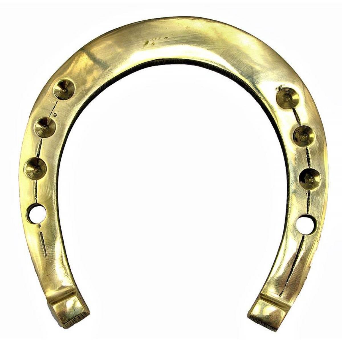 Подкова бронзовая (10 шт/уп.) (11х10,5 см)