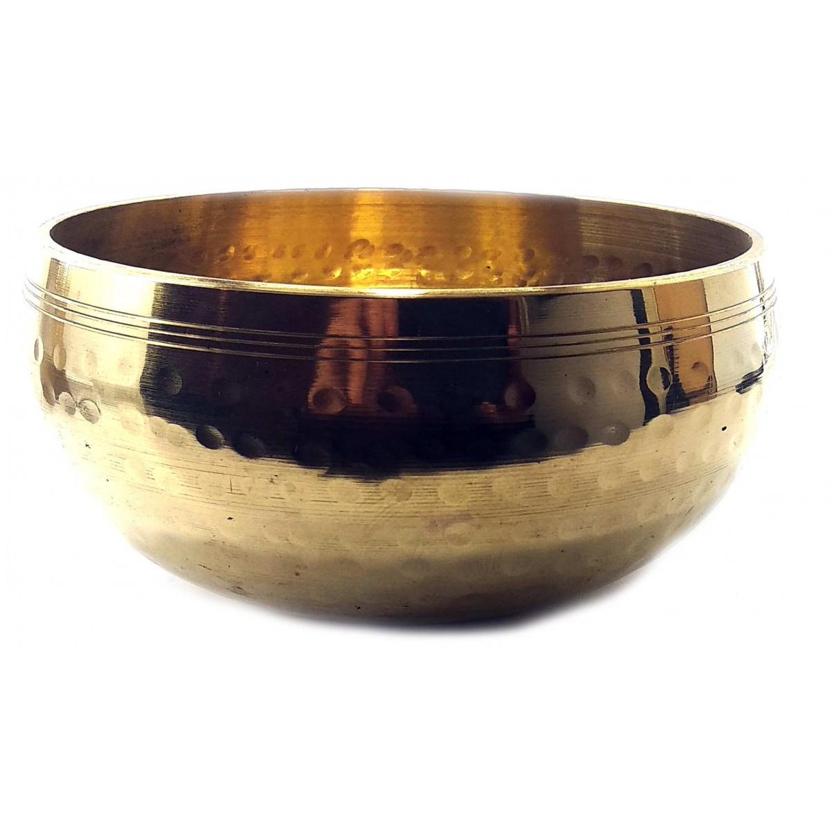 Чаша поющая кованая ручная работа (d-15,5 см h-8 см)(925 г.)