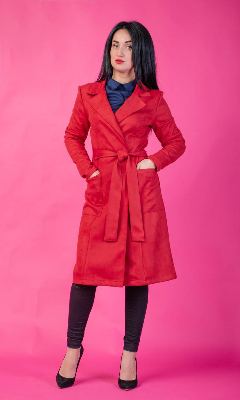 bb2af92f5bc Женское пальто весна-осень длины миди - Интернет-магазин стильной одежды
