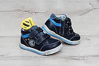 Демисезонные ботинки для мальчиков, 21-26, фото 1