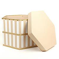 Подарочная коробка Hexagon 22.5 x 15 см