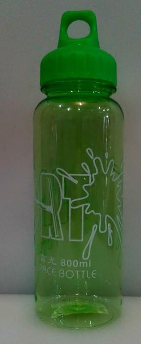 Бутылка пластиковая круглая для воды и напитков V 800 мл (шт)