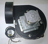 Качественный дымосос для твердотопливного котла MplusM Улитка WWK 180/75W Ø-180 (диаметр дымохода 180мм), фото 2