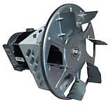 Качественный дымосос для твердотопливного котла MplusM Улитка WWK 180/75W Ø-180 (диаметр дымохода 180мм), фото 3