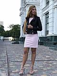 Черная брендовая куртка косуха, фото 10