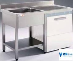 Ванна моечная односекционная со столом и шкафом Fagor FBL-127 D