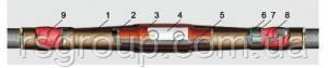 Муфта кабельная 1СТп 0-5 ( со срывными болтами )