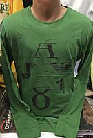 Мужские турецкие футболки Armani с длинным рукавом