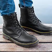 Женские и мужские ботинки Dr. Martens 1460 Black 45f49b2663b88