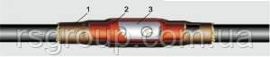 Муфта кабельная 1ПСТп 0-4 ( со срывными болтами )