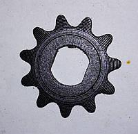 Звездочка привода маленькая для детского электроквадроцикла 25 мм