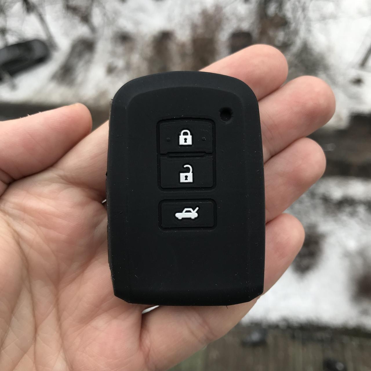 Силиконовый чехол для ключа Toyota Yaris,Auris,Highlander, Land Cruiser,Rav4,Camry,Corolla, Avalon,Avensis
