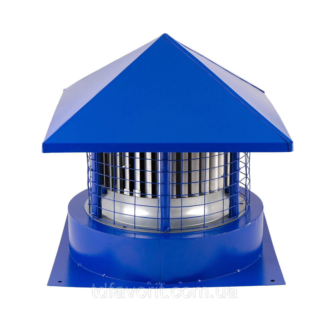 Вентилятор крышный радиальный  КВЦ 2