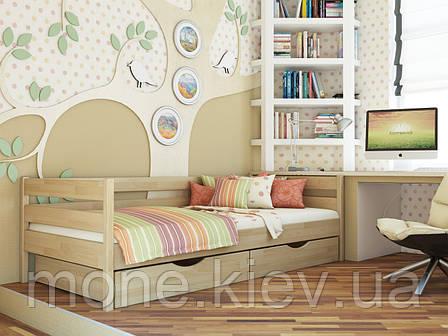 Ліжко односпальне з ящиками/ з шухлядами Нота, фото 2