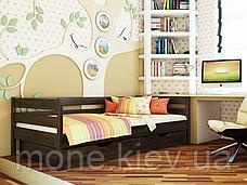 Ліжко односпальне з ящиками/ з шухлядами Нота, фото 3