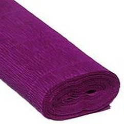 Бумага гофрированная фиолетовая