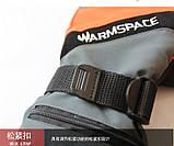 Рукавички лижні з підігрівом кожного пальця WARMSPACE-P1 + акумулятори 2000мАч + зарядний. 40-55 З, фото 6