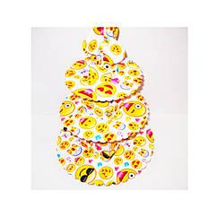 Подставка для кексов 3-х ярусная 'Смайлы'