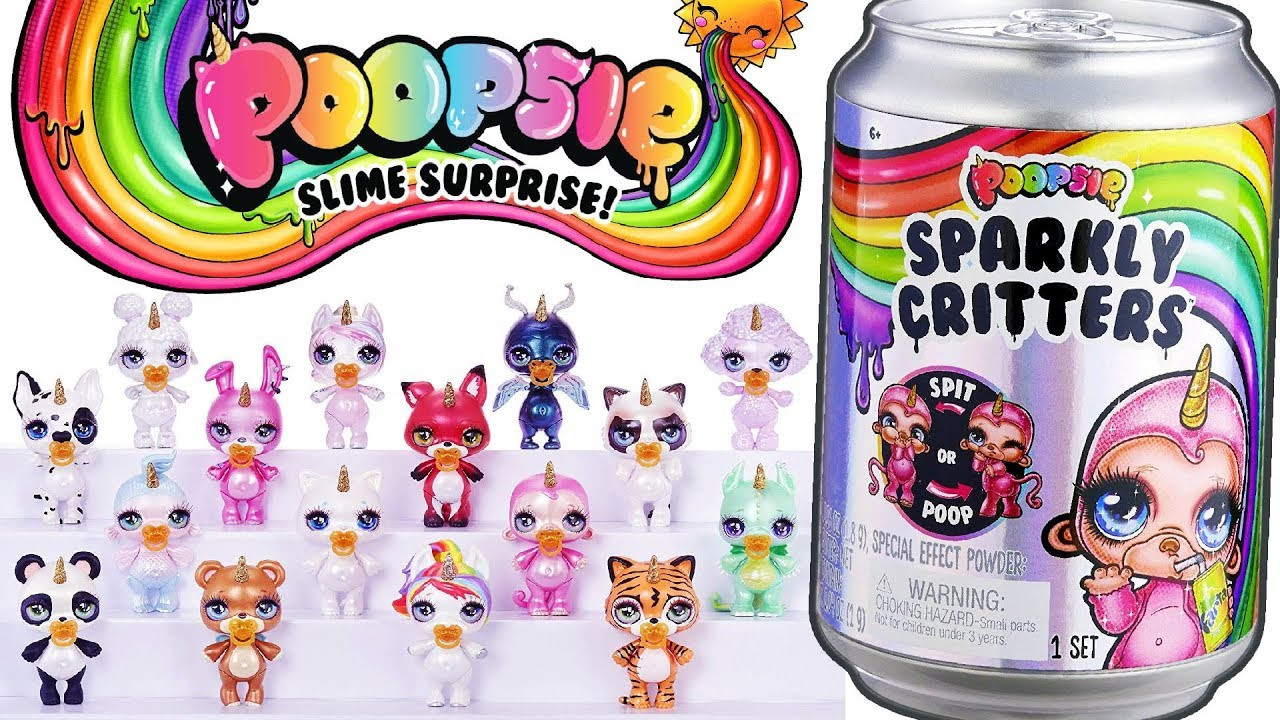 Пупси слайм Единорожка сюрприз, Единорог пупси слайм, Poopsie Sparkly Critters, MGA, Оригинал из США