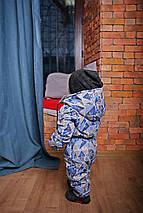 Демисезонный комбинезон на мальчика человечек морской Топ Новинка , фото 2
