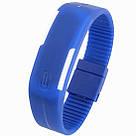 Спортивные LED часы-браслет водонепроницаемые, фото 2