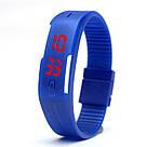 Спортивные LED часы-браслет водонепроницаемые, фото 4