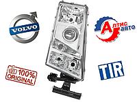 Фара Вольво FH12 ручное регулирование фишка круг. противотуманные фара Volvo FH-FM оптика стекло