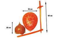 """Набор """"Богатырь"""" Комплектация: меч, шлем, щит"""