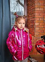 Яркая демисезонная теплая детская куртка, фото 2