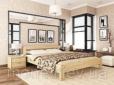 Кровать двуспальная Рената  деревянная из бука , фото 3