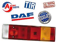 Задний фонарь DAF 95 XF СF 85 75 65 45 55 7 секционный, фишка сбоку оптика для грузовиков стекло