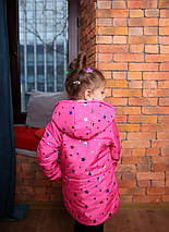 Куртка для девочки, детская куртка на синтепоне, фото 3