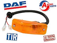 Повторитель поворота фонарь DAF 105, 95 XF, CF 85 75 Евро 2 3 5 оптика для грузовиков стекло фары