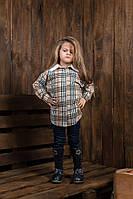 """Стильная детская рубашка """" Kids Клетка """" Dress Code"""