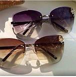 """Женские солнцезащитные очки """"Бабочка"""" (2 цвета), фото 6"""