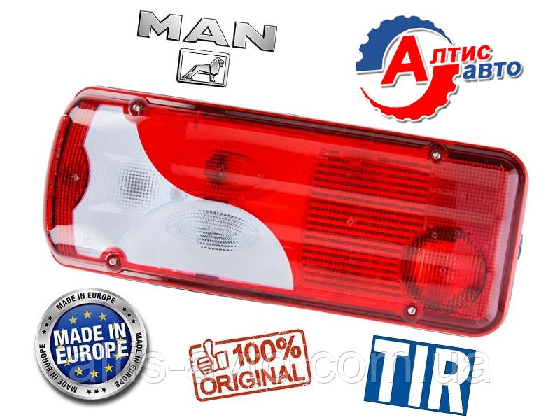 Фонарь задний MAN TGA, Tgl, Tgm, Tgs, Tgx, оптика для грузовиков стекло габаритный поворотник фара