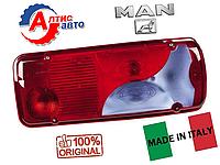 Фонарь задний MAN TGA Tgl, Tgm, Tgs, Tgx фишка сбоку оптика для грузовика стекло фары поворотник