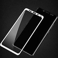 Защитное стекло Premium на весь экран для Huawei Honor 8C (Хуавей Хонор 8С)