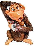 Фигурка-статуэтка обезьянка «Микки» коллекционная из керамики Англия, h-12 см. 340-1053