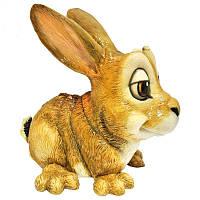 Фигурка-статуэтка кролик «Хлоя» коллекционная из керамики Англия, h-13,5 см 340-1027