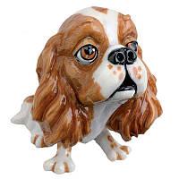 Фигурка-статуэтка коллекционная с керамики собачка «Труди»Англия, h-10,5 см 340-1031