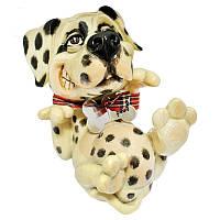 Фигурка-статуэтка собачка далматинец «Спот» коллекционная из керамики Англия, h-11,5 см 340-1055