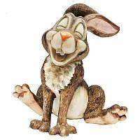 Фигурка-статуэтка кролик «Зампер» коллекционная из керамики Англия, h-19 см 340-1062