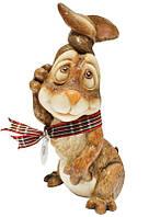 Фигурка-статуэтка кролик «Джимми» коллекционная из керамики, Англия,h-14,5 см 340-1071