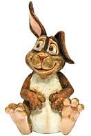 Фигурка-статуэтка кролик «Питер» коллекционная из керамики, Англия,h-24 см 340-1072