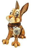 Фигурка-статуэтка кролик «Освальд» коллекционная из керамики Англия, h-13 см 340-1016