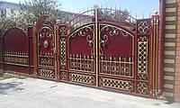 Ковані ворота та калітка
