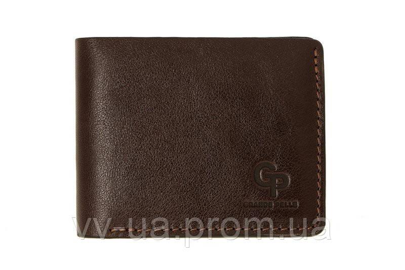Портмоне Grande Pelle Onda, шоколад, кожаный (507620)